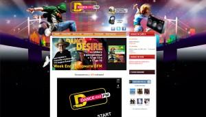 Сайт радиостанции Dfm